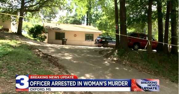 Married Mississippi cop arrested for murder of woman he'd
